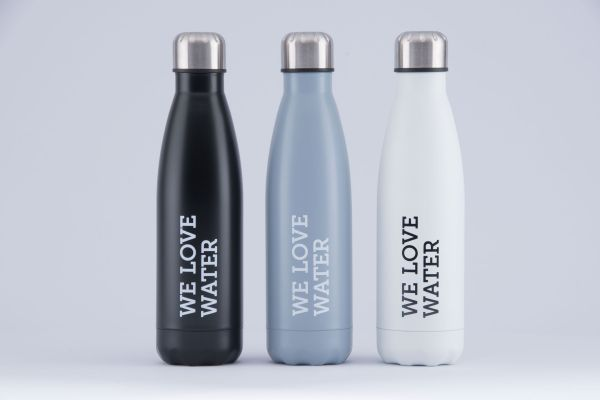 WLW Trinkwasserflasche weiss